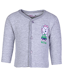 Little Darling Full Sleeves Thermal Vest - Lil Car Print