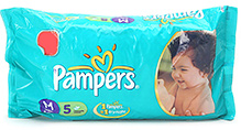 Pampers Baby Diaper Medium - 5 Pieces