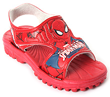 Spiderman Red Designer Velcro Strap Sandal
