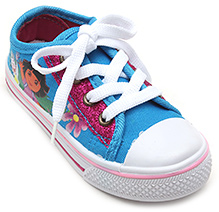 Dora Blue Casual Canvas Shoes - Dora Print