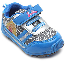 Barbie Blue Velcro Strap Sports Shoes - Barbie Batch