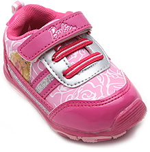 Barbie Pink Velcro Strap Sports Shoes - Barbie Batch