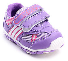 Kids Ville Purple Sports Shoes - Dual Velcro Strap