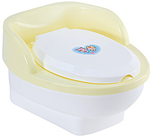 Fab N Funky Potty Training Seat Yellow