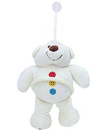 Fab N Funky Teddy Shape Napkin Hanger - White