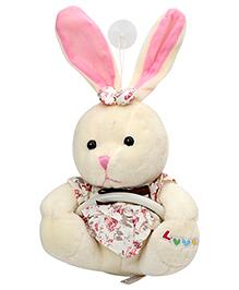 Fab N Funky Rabbit Pattern Napkin Hanger - Floral Print