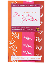 Potli Hand Block Printing Kit - Morning In The Flower Garden