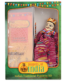 Potli Puppetry Kit - Sutradhar Puppet