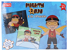 Mighty Raju 2 In 1 Puzzle
