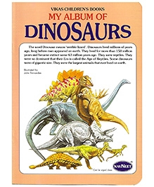 NavNeet My Album Of Dinosaurs - English