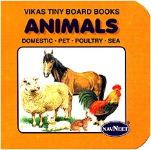 NavNeet Vikas Tiny Board Books Animals - English