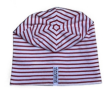GEGGAMOJA White Stripes Print Cap