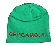 GEGGAMOJA Green Plain Cap - Machine Emboridery