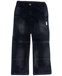 Gron Full Length Black Denim