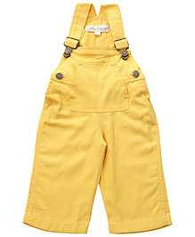 Little Heart Yellow Dungaree