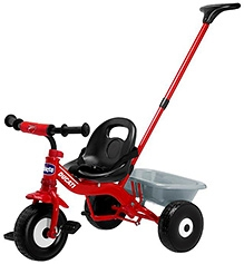 Chicco Air Trike Ducati Tricycle With Push Handle - Red