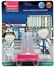 Morison Baby Dreams Medicine Dropper Pink