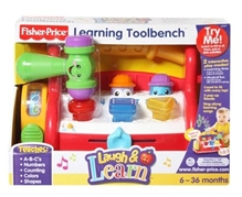 Fisher Price Laugh & Learn - Learning Toolbench