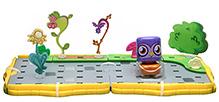 Bobble Bots Starter Large Starter Set Cobblestone Garden - Professor Purplex