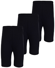 Bodycare Plain Black Leggings