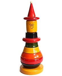 Aatike Wooden Jester Classic Stacking Toy