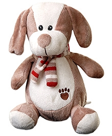 Play N Pets Dog Soft Toy With Scarf