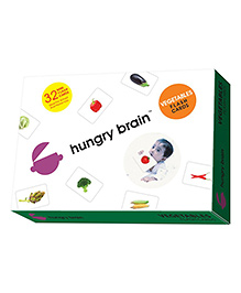Edupark Krazy Vegetables Mini Flash Cards