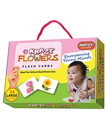Edupark Krazy Flowers Flash Cards - 26 Cards