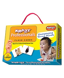 Edupark Krazy Professionals Flash Cards - 26 Cards