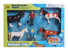 Wild Republic Eco Expedition Western Trail Moveable - Action Play Set