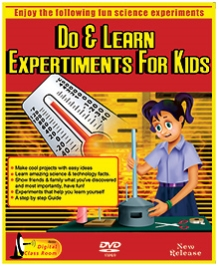 Bento Do And Learn Experiments For Kids DVD - English