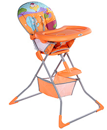 Fab N Funky Ayoba High Chair Orange