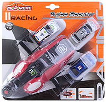 Majorette Racing Turbo Booster With 3 Cars
