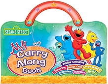 Sterling Sesame Street My Carry Along Book
