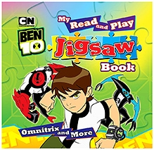 Sterling My Read And Play Jigsaw Puzzle Book - Omnitrix And More