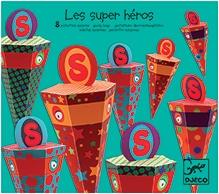 Djeco Les Super Heroes - 8 Goody Bags