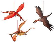 Djeco Merciless Dragons Wall Decor