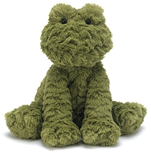 Jellycat Fuddlewuddle Frog Soft Toy - Medium