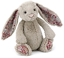 Jellycat Blossom Bashful Beige Bunny Baby Soft Toy - 13 Cm - Dimension - 13 Cm