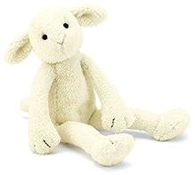 Jellycat Slackajack Lamb Small Soft Toy - 0 Months And Above