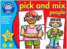 Orchard Toys Pick And Mix People - 36 Cards