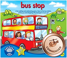 Orchard Toys Bus Stop Educational Game