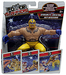 WWE Power Slammers Dynamite Driving Rey Mysterio Figure