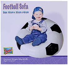 Suzi Inflatable Football Sofa Junior - 60 x 50 x 40 cm