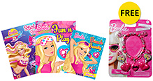 Barbie Combo 1 - Set of 3 Books