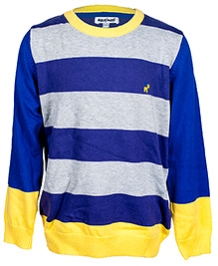 Nauti Nati Full Sleeves Striped Sweater