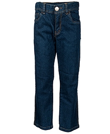 Nauti Nati Dark Blue Narrow Bottom Jeans