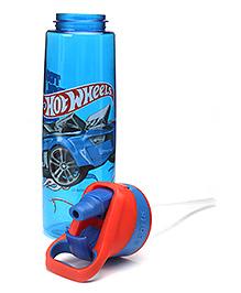 Hotwheels Blue Sports Sipper 1000 Ml - - 7 X 7 X 27 Cm
