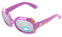 Disney Princess Floral Print Violet Oval Sunglasses