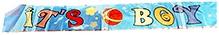Party Anthem Its Baby Boy Foil Banner - 181 X 51 Cm